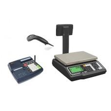 Mini pénztárgép + G310 mérleg + Zebex vonalkódolvasó akció