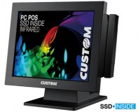 "Custom IR15 infrared Touch 15"" Pc Pos"