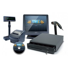 Posiflex + MSWACP kereskedelmi POS rendszer